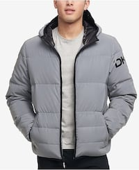 gray zip-up bubble jacket Toronto, M4X 1W7