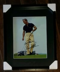 Arnold Palmer Signed Golf Photo Framed w/COA  Brampton, L6Y 4B3