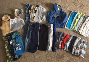 Lot #3 Huge Lot of Boys 3T Clothes / Clothing