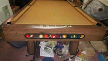 Brunswick pool table official slate table