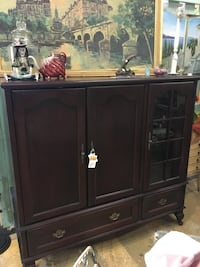 Black wooden cabinet with drawer San Jose, 95124
