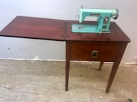 "Antique ""Modernage"" Sewing Machine and Cabinet GREAT FIND — WORKS! Concord, 28027"
