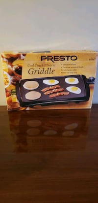 Kitchen appliance electric griddle