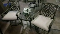 Patio set (2 chairs + table) Farmers Branch, 75234