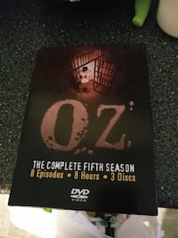 Oz DVD set.