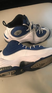 Blue & White Penny Hardaway's 9 1/2  New Orleans, 70114