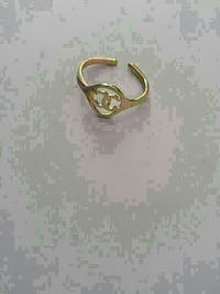 Gold Chanel ring