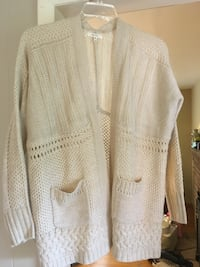 Cream colored cardigan Bristol, 37620