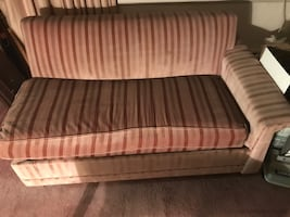 Pull out casto convertible couch 58 inch long