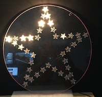 """FLICKERING STAR - Approx. 21"""" - Needs New Bulbs Youngstown"""