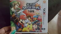 Super Smash bros. caso di gioco nintendo 3ds