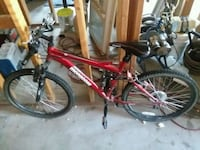 red and black full-suspension bike Bakersfield, 93306