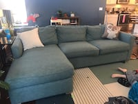 Crate and Barrel couch 1474 mi