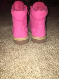 Pink Tims Toddler 10c *never worn Nashville, 27856
