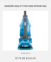 Hoover agility steamvac Silver Spring, 20906