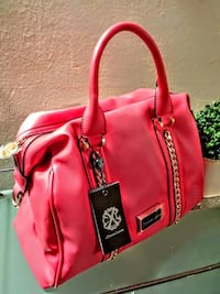 New Christian Lacroix Coral and blue leather