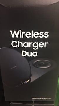Wireless charger Duo Samsung Mississauga, L4W 1Z7