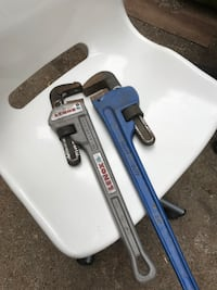 "Plumbing wrenches Lenox 18"" and 24"" wrench  Vancouver, V5S"