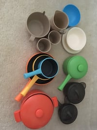 Children's Toy- Pots and Pans and Dishes