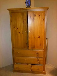 brown wooden armoire Las Vegas, 89129