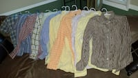Hollister, Chaps, Dockers shirts