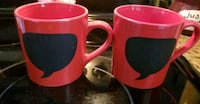 Red message mugs  Bowie, 20715