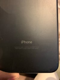 Black AT&T iPhone 7plus 128gb