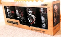 The Walking Dead 4-Pack 16oz Pint Glasses Set Calgary, T2Y 3Y6