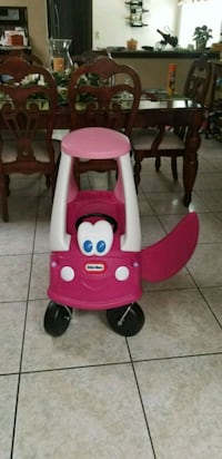 Little Princess Pink Car Cozy Coup NEW Assembled El Paso, 79936