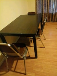 rectangular brown wooden table no chairs  Modesto, 95354