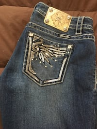 blue Miss Me denim bottoms null