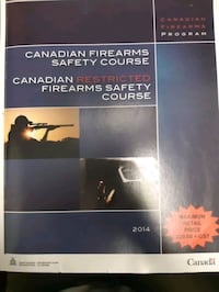 Firearm safety course book Toronto, M1B 2K4