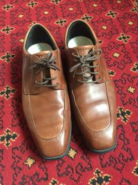Men's lather shoes size 8 for sale  Calgary, T3E 1B8