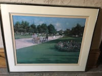 Framed Garden print by Henry Chase Flower Mound