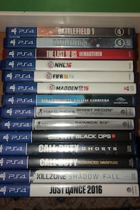 PS4 games. COD Ghost is sold. Alexandria, 22302