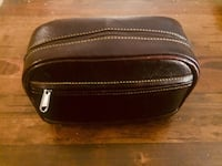 Brand new deluxe leather toiletry bag Vancouver, V6E 1J8