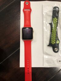 """Apple Watch 1 Aluminum Gold, 42"""",  comes with 4 belts Milpitas, 95035"""