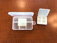 2 PILL KEEPERS ORGANIZERS ...