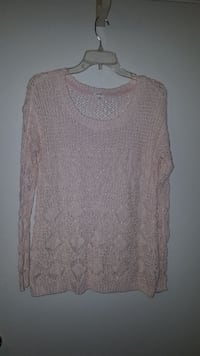 Med Pink Sweater by Garage