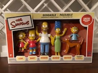The Simpsons bendable/poseable figures 2248 mi