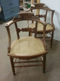 Pair of Victorian Barrel Back Chairs Mesa