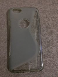 Grey silicone iphone case