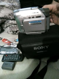 silver Sony Handycam camcorder with box Ottawa, K1S 5L5