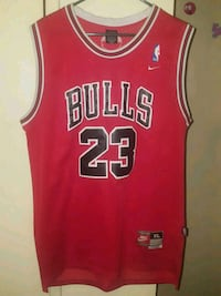 red and black Chicago Bulls 23 jersey West Covina, 91790
