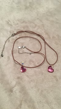Swarovski crystal necklaces