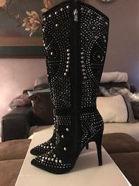 High heeled boots, Brand new still in box