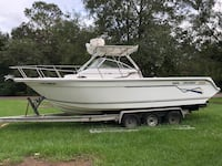 White and black speed boat Mobile, 36619