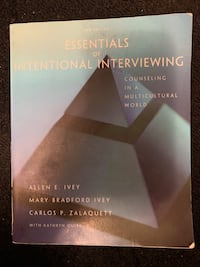 Essentials of Intentional Interviewing TEXTBOOK NO MARKINGS Toronto, M5K 2A1