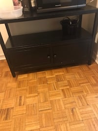 Black hutch cupboard  Oakville, L6J 3N3
