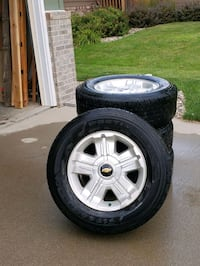 Alloy Rims and tires Brandon, 57005